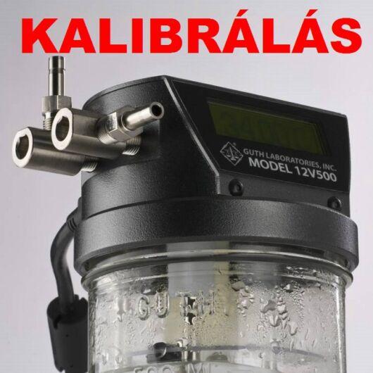 Alkoholszonda AL9010 kalibrálás (SENTECH)